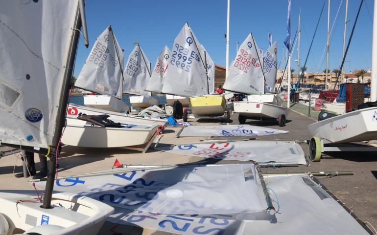 Gran jornada la 2ª del TAP de Los Alcázares por los roles de viento (Fotos: Falgas)