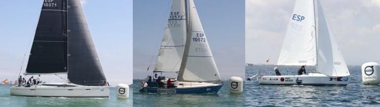 """'Ohana' 'Añil-Servimar' y 'SOS Mar Menor' ganadores del """"G.P. DFM Rent a Car"""" del XXVII Trofeo Carabela de Plata"""