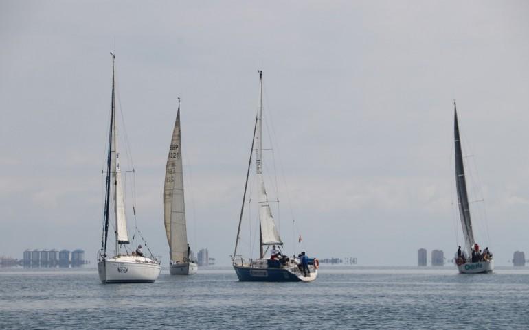'Ohana' ' Añil-Servimar' y 'SOS Mar Menor' ganan el G.P. DFM Rent a Car (Fotos: Falgas)
