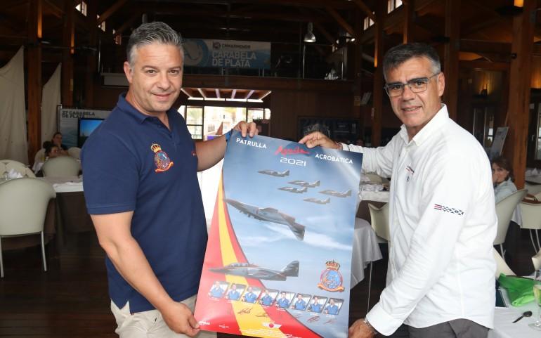 La Patrulla Águila invitada de honor en la final del Trofeo Carabela de Plata 2021 en una gran jornada náutica  (Fotos: Falgas)