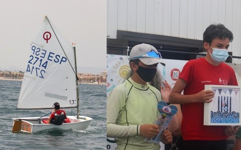Sergio López del RCR Cartagena ganador absoluto de la XVI Regata Benéfica ASTRAPACE que organiza el CNMARMENOR