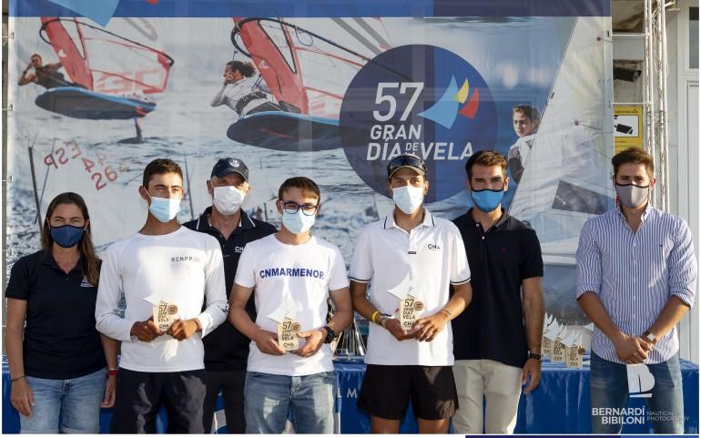 """CN Mar Menor en """"El Gran Día de la Vela"""" con un 2º absoluto de Manuel García en ILCA 6"""