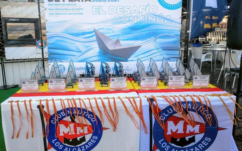 Trofeos a la Regularidad, medallas y reconocimientos a destacados regatistas