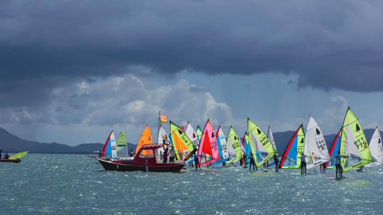Alegría en la XXII edición del Surfari Mar Menor 2021